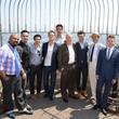 Samuel Barnett Empire State Building Hosts Tony Award Nominees