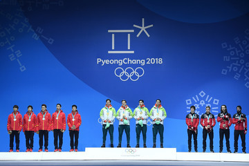 Samuel Girard Medal Ceremony - Winter Olympics Day 14