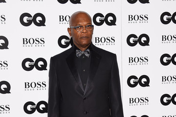 Samuel L. Jackson Guests Arrive at the GQ Men of the Year Awards