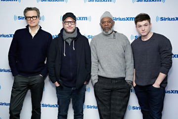 Samuel L. Jackson 'Kingsman' Stars Stop by the SiriusXM Studio