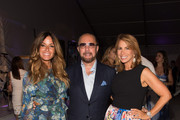 Kelly Bensimon, Bobby Zarin and Jill Zarin attend the Samuel Waxman Cancer Research Foundation 11th Annual A Hamptons Happening  on July 11, 2015 in Southampton, New York.