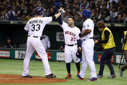 Jose Altuve and Yasiel Puig Photos Photo