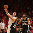 Blake Griffin and Tim Duncan