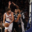 Robin Lopez and Tim Duncan Photos