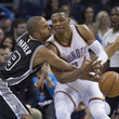 Russell Westbrook and Tony Parker