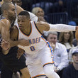 Russell Westbrook and Tony Parker Photos
