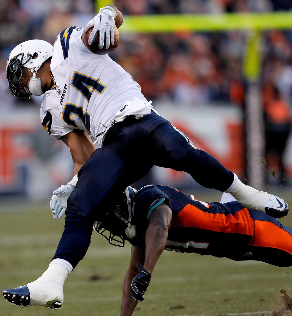 San Diego Chargers Chargers: Ryan Mathews In San Diego Chargers V Denver Broncos