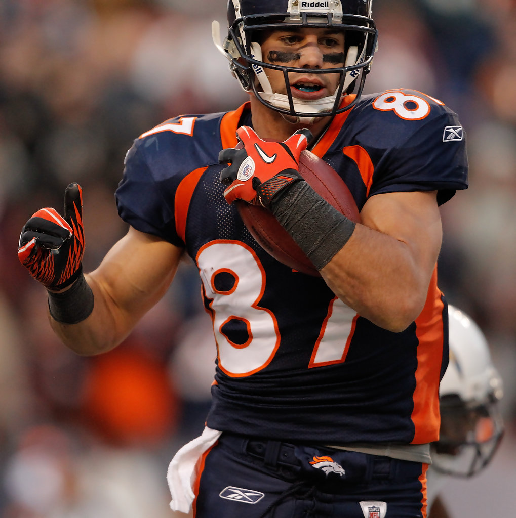 San Diego Chargers At Denver Broncos: Eric Decker In San Diego Chargers V Denver Broncos