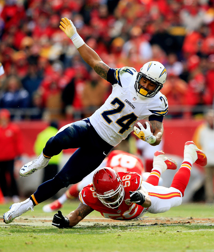 San Diego Chargers Chiefs: Ryan Mathews In San Diego Chargers V Kansas City Chiefs