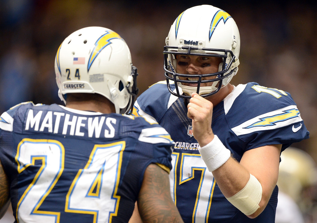 Ryan Mathews In San Diego Chargers V New Orleans Saints