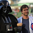 Darth Vader Is a Big Baseball Fan