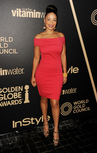 Sanaa Lathan - The Hollywood Foreign Press Association (HFPA) And InStyle Celebrate The 2013 Golden Globe Awards Season