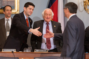 Sander Levin Jack Lew Testifies Before House Committee