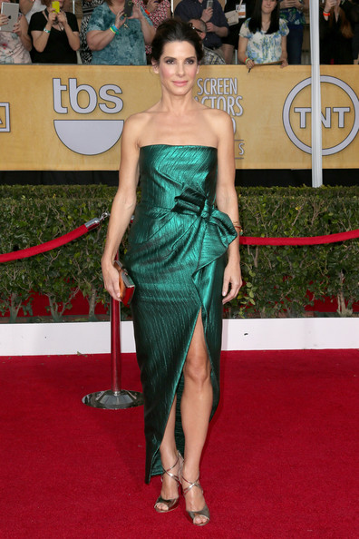 Sandra Bullock - 20th Annual Screen Actors Guild Awards - Arrivals