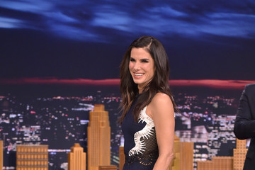 Sandra Bullock Sandra Bullock Visits 'The Tonight Show Starring Jimmy Fallon'