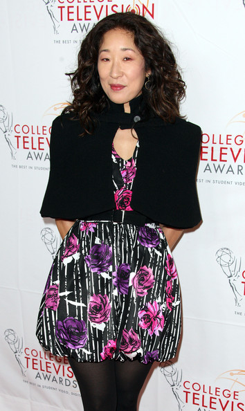 Sandra Oh Actress Sandra Oh attends the Academy of Television Arts & Sciences Foundation's 33rd Annual College Television Awards at the Renaissance Hollywood Hotel on March 31, 2012 in Hollywood, California.