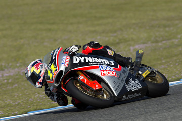 Sandro Cortese Moto2 and Moto3 Tests in Jerez: Day 3