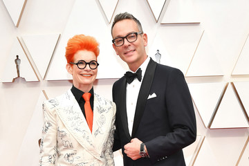 Sandy Powell Christopher Peterson 92nd Annual Academy Awards - Arrivals