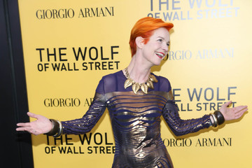 Sandy Powell 'The Wolf of Wall Street' Premieres in NYC