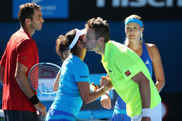 Sania Mirza 2014 Australian Open - Day 14