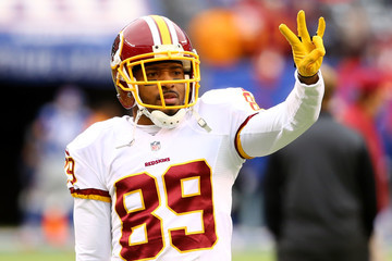 Santana Moss Washington Redskins v New York Giants