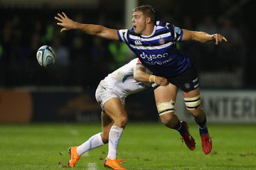 Santiago Cordero Bath Rugby vs. Exeter Chiefs - Gallagher Premiership Rugby