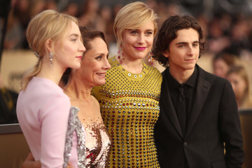 Saoirse Ronan Laurie Metcalf 24th Annual Screen Actors Guild Awards - Red Carpet