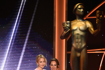 Saoirse Ronan Laurie Metcalf 24th Annual Screen Actors Guild Awards - Show