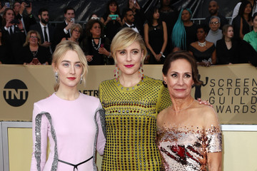 Saoirse Ronan Laurie Metcalf 24th Annual Screen Actors Guild Awards - Arrivals