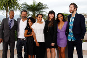 "(L-R) Actors Tory Kittles, director Wayne Blair, Miranda Tapsell, Deborah Mailman, Shari Sebbens, Jessica Mauboy and Chris O'Dowd attend the ""The Sapphires"" Photocall during the 65th Annual Cannes Film Festival at Palais des Festivals on May 20, 2012 in Cannes, France."