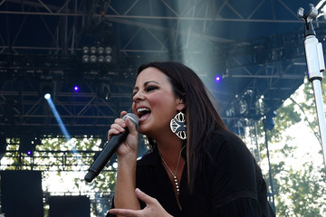 Sara Evans Celebrities Attend Pepsi's 'Rock The South' Festival