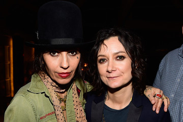 Sara Gilbert Linda Perry Linda Perry Celebration for the Song 'Hands of Love' from the Film 'Freeheld'