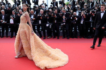 Sara Sampaio 'Once Upon A Time In Hollywood' Red Carpet - The 72nd Annual Cannes Film Festival