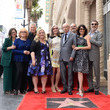 Sarah Baker Alan Arkin Honored With A Star On The Hollywood Walk Of Fame