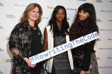Sarah Brown Theirworld Launches New Campaign #RewritingTheCode at the International Women's Day Breakfast at Facebook HQ in London