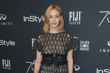 Sarah Gadon Hollywood Foreign Press Association and InStyle Celebrate the 75th Anniversary of the Golden Globe Awards - Arrivals