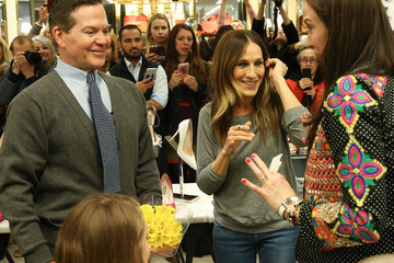 Sarah Jessica Parker Sarah Jessica Parker Promotes New Line Of Designer Shoes At Bloomingdales