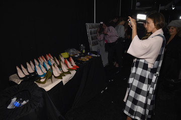 Sarah Jessica Parker Tome - Backstage - Mercedes-Benz Fashion Week Fall 2015