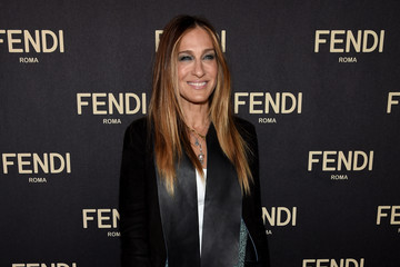 Sarah Jessica Parker FENDI Celebrates The Opening Of The New York Flagship Store - Cocktails