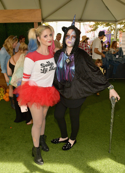 2018 GOOD+ Foundation's 3rd Annual Halloween Bash Presented By Delta Air Lines And Otter Pops [clothing,fashion,event,costume,dress,fashion design,michelle trachtenberg,sarah michelle gellar,culver city,california,delta air lines,otter pops,l,good foundations 3rd annual halloween bash]
