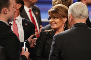 Sarah Palin Final Presidential Debate Between Hillary Clinton and Donald Trump Held in Las Vegas