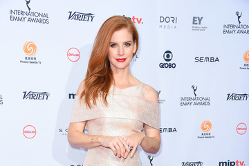 Sarah Rafferty 44th International Emmy Awards - Arrivals
