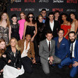 Sarah Schechter Premiere Of Netflix's 'Chilling Adventures Of Sabrina' - Red Carpet