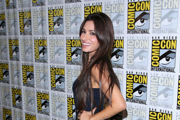 "Sarah Shahi ""Person Of Interest"" Press Line - Comic-Con International 2014"