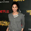 Sarah Silverman Premiere Party For The OBB Pictures And Netflix Original Series 'Historical Roasts' Featuring Jeff Ross