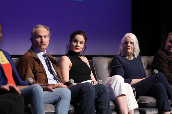 """SCAD aTVfest 2020 - """"Council Of Dads"""" [event,performance,fashion,audience,fun,conversation,academic conference,performing arts,heater,sitting,joan rater,michael oneill,sarah wayne callies,georgia,atlanta,council of dads,scad atvfest,public relations,theatre,convention,public,meter]"""