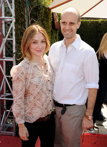 Sasha Alexander and husband