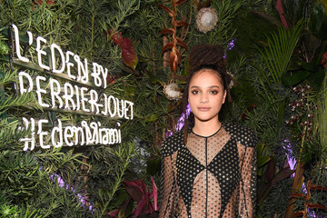 Sasha Lane L'Eden By Perrier-Jouet Cocktail Party In Partnership With Jalouse