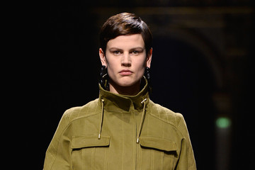 Saskia de Brauw Balmain : Runway - Paris Fashion Week Womenswear Fall/Winter 2014-2015