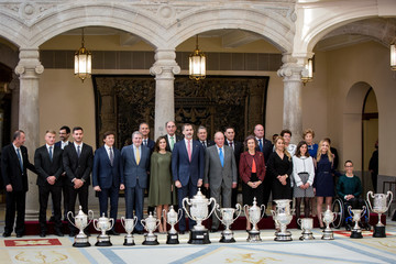 Saul Craviotto Spanish Royals Attend The National Sports Awards Ceremony